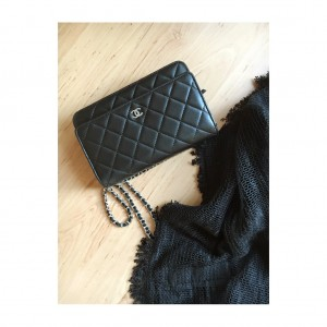 chanel bag-small-black